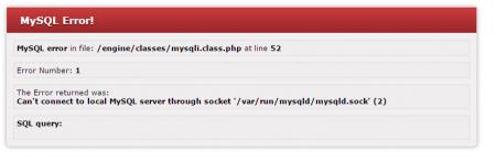 MySQL ошибка после DDoS-атаки. Как с этим бороться?